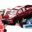 Toy cars — Stockfoto