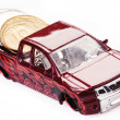 Toy car money — Stock Photo #30857795