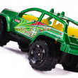 Stock Photo: Jeep toy machine