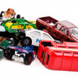 Toy cars — Stock Photo