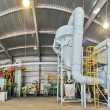 Soybean processing plant — Foto Stock