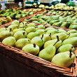 Stock Photo: Pears at grocery store