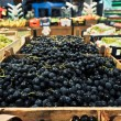 Stock Photo: Grapes at grocery store