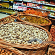 Nuts on the market — Stock Photo