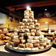 Stock Photo: Baklava in store