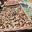 Roasted hazelnuts — Stock Photo