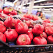 Pomegranates at the Market — Stockfoto
