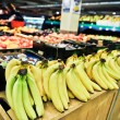 Bananas at the grocery store — Stock Photo