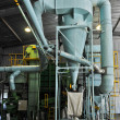 Soybean processing plant — Stock Photo #34142603