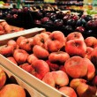 Peach-figs in the store — Stock Photo