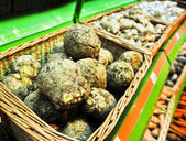 Celery root in the store — Stok fotoğraf