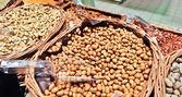Nüsse kabukim auf dem markt — Stockfoto