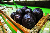 Purple cabbage in the store — Stock Photo