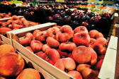 Peach-figs in the store — Photo