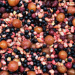 Frozen fruits background — Stock Photo