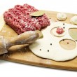 Stock Photo: Chopped meat