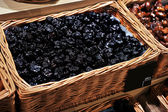 Prunes in store — Stock Photo