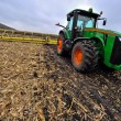 Stock Photo: Tractor on field