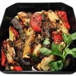 ������, ������: Baked eggplant salad