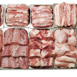 Foto Stock: Meat showcase
