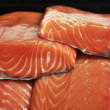 Stock Photo: Fresh salmon fillet