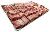 A large assortment of meat — Stock Photo
