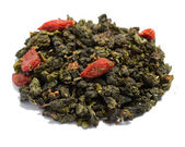 Semi-fermented oolong tea goji — Stock Photo