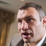 Постер, плакат: Vitali Klitschko Ukrainian politician