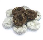 Puer mint pressed black tea — Stock Photo