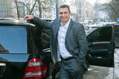 Vitali Klitschko Ukrainian politician — Stock Photo
