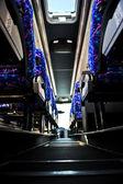 Interior de ônibus — Fotografia Stock