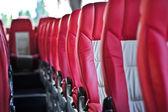 Interior de ônibus — Foto Stock