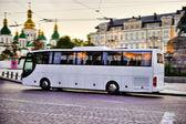 White bus — Stock Photo