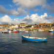 Stock Photo: Boats in Porthleven Harbour