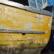 Stock Photo: Detail Wooden Boat Hull