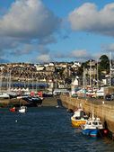 Penzance Harbour Cornwall — Stock Photo