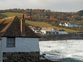 Cornwall - Coverack In Winter — Stock Photo