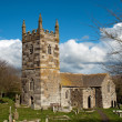St Wynwallow's Church Cornwall — Stock Photo
