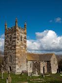 St Wynwallow Church Cornwall — Stock Photo