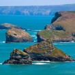 Stock Photo: North Cornwall Coast