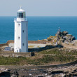 Stock Photo: Godrevy Lighthouse Cornwall