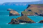 North Cornwall Coast — Stock Photo