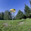 Disc golf basket2 — Stock Photo