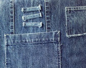 Denim fabric — Stock Photo