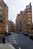 English apartment buildings in London — Stock Photo