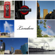 collage de Londres — Photo