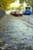Autumnal street — Stock Photo