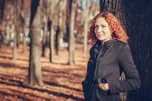 Autumn portrait — Stock Photo