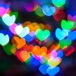 Valentines Day heart bokeh — Stock Photo #38438145