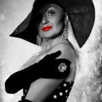 moda piękny portret — Zdjęcie stockowe #45363021